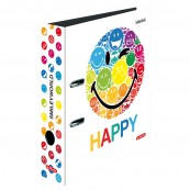 SEGREGATOR A4 8CM SMILEY WORLD RAINBOW