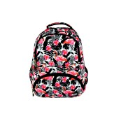 Plecak szk BP-07 Flamingo Pink&Black Stright