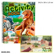 Top Model 6640 Activity Book Dino World