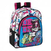 MONSTER HIGH PLECAK ŚREDNI BE MONSTER