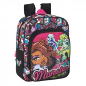 MONSTER HIGH PLECAK ŚREDNI ALL STARS