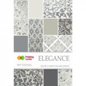 BLOK MOTYW Elegance 196x288mm. 10 ark. HappyColor