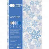 BLOK DECO WINTER A4/20 170G HappyColor