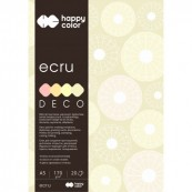 BLOK DECO ECRU A4/20 170G HappyColor